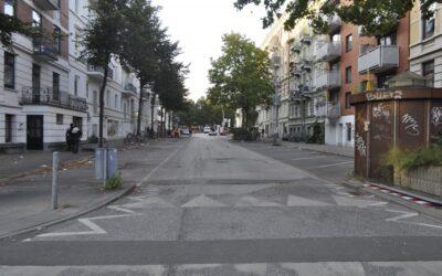 Stellinger Weg ohne Autos